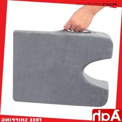 Car Driver Pillow Seat Gel Cushion Memory Foam Back Pain Rel