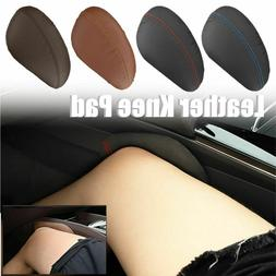 Car Leather Knee Pad Leg Cushion Thigh Support Pillow Seat I