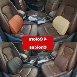 Car Seat Back Support Cushion Chair Lumbar Waist Pillow Memo