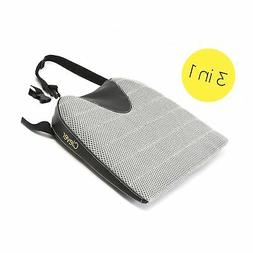 Car Seat Cushion with Strap Drivers Wedge with Coccyx Suppor