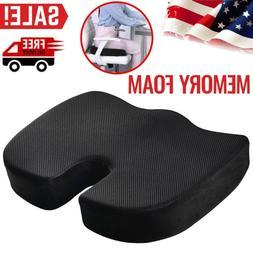 Car Seat Pillow Tailbone Memory Foam Pad Office Chair Coccyx