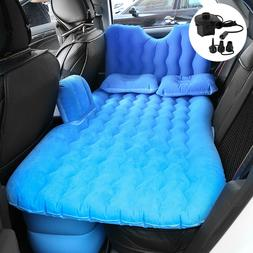 Car Travel Inflatable Air Mattress Cushion Rest Camping Back