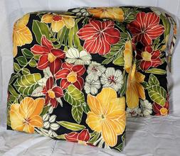 "20"" Outdoor Chair Cushion, Aloha Black"