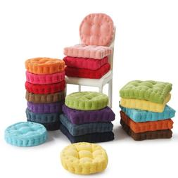 """Chair Cushion Pad 3"""" Thick Corduroy Seat Round/Square Patio"""