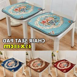 chair cushion pad seat with ties garden