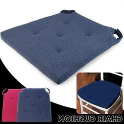 Chair Cushion Seat Pads Outdoor Tie On Garden Patio Removabl