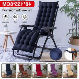 Chair Cushion Tufted Soft Deck Chaise Padding Outdoor Patio