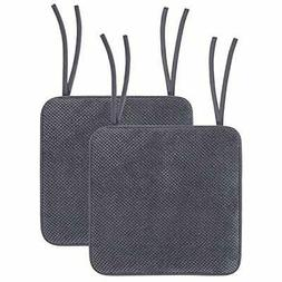 Chair Cushions for Dining Rooms - Memory Foam Non Slip Seat