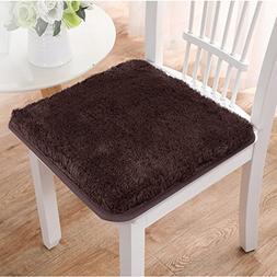 Seavish Chair Pads, Brown custom Soft Non-slip Seat Cushion