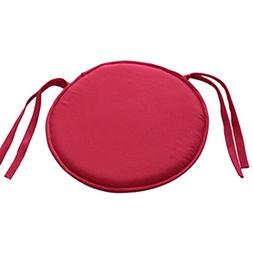 Chair Pads, Round Chair Seat Pads Cushion with 9 Color Choic