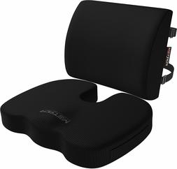 FORTEM Chair Seat Cushion & Lumbar Support Back Pillow, Orth