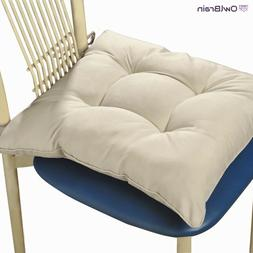 Chair Seat Cushion Pads with Ties Kitchen Dining Room Bed Ro