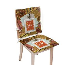 Chair seat padchair pad setAutumn Seasonal Sale Label EPS 13