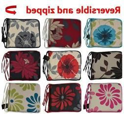 Chair SEAT PADS Floral Kitchen Dining Removable Seat Cushion