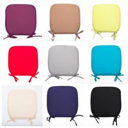 chair soft foam cushion seat pad tie