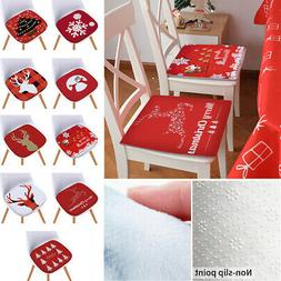 Christmas Seat Pads Kitchen Non-slip Room Dining 40x40cm Cus
