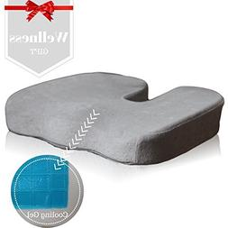 Car Seat and Office Chair Cushion - Coccyx Pillow - Doctor D