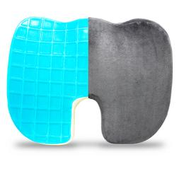 Coccyx Memory Foam Seat Cushion Cooling Gel Support Orthoped