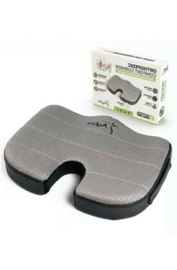 Aylio Coccyx Orthopedic Comfort Foam Seat Cushion for Lower