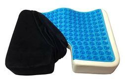 Coccyx Orthopedic Gel-enhanced Comfort Foam Seat Car Pillow