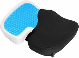 Coccyx Orthopedic Gel-enhanced Comfort Memory Foam Seat Chai