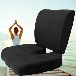 Coccyx Orthopedic Memory Foam Seat Cushion Offic Chair Car S