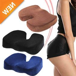 COCCYX ORTHOPEDIC SEAT Comfort Pain Relief Memory Foam Offic