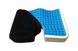 Kieba Coccyx Seat Cushion Cool Gel Memory Foam Large Orthope