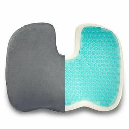 coccyx seat cushion pillow gel-enhanced - memory foam qualit