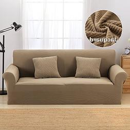 Coffee Sofa Covers  High-grade Knit Couch Slipcovers Spandex