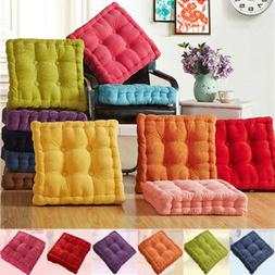 Colorful Thick Corduroy Cushion Pad Seat Chair Patio Car Off