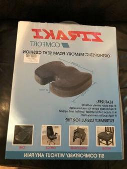 Ziraki Comfort Coccyx Orthopedic Memory Foam Seat Cushion