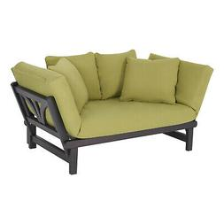 Convertible Studio Outdoor Daybed Sofa, Patio, Cushions, Fur