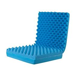 DMI Convoluted Foam Total Chair Pad, Seat Cushion with Back