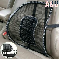 Cool Vent Cushion Mesh Back Lumbar Support Office Home Car S