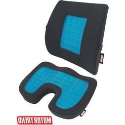 Motor Trend Cooling Lumbar Support + Orthopedic Seat Cushion