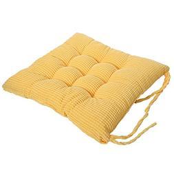 Corduroy Chair Pad - TKOOFN Expandable Polyethylene  Stuffed