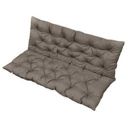 vidaXL Cushion for Swing Chair Pillow Taupe Fabric Hanging S