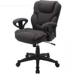 Cushioned Padded Arm Office Chair High Back Manager Office S