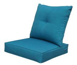 Bossima Cushions Patio Furniture, Outdoor Water Repellent Fa