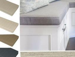 Custom Bench / Window Seat Cushion, indoor/outdoor SUNBRELLA