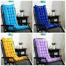 Deck Chair Cushion Comfy Patio Garden Tufted Mattress Lounge