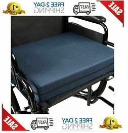 Duro-Med Deluxe Wheelchair Cushion, Car Seat Cushion, Seat R