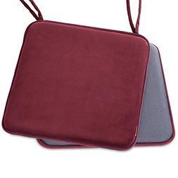 Shinnwa Dining Chair Pads,2 Pack Non Slip Memory Foam Kitche