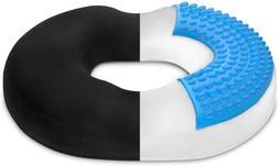 Donut Pillow Seat Cushion Orthopedic Design Tailbone & Coccy