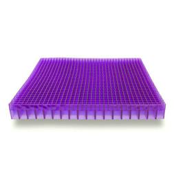 The Double Purple Seat Cushion Soft For Lightly Cushioned Se