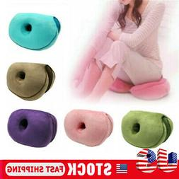 Dual Comfort Cushion Lift Hips Up Seat Cushion Memory cotton