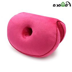 Dual Comfort <font><b>Cushion</b></font> Plush Folding Pillo