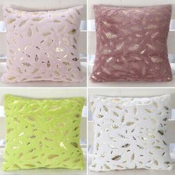 Durable Sofa Pillowcases Bedroom Seat Pillow Cover Fur Cushi