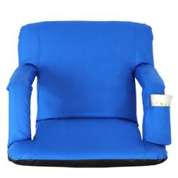 easy carry stadium seats chairs blue bleachers